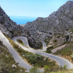Cycling doesn't get any better - Sa Calobra, Mallorca Camp 2014 © Russell Carter